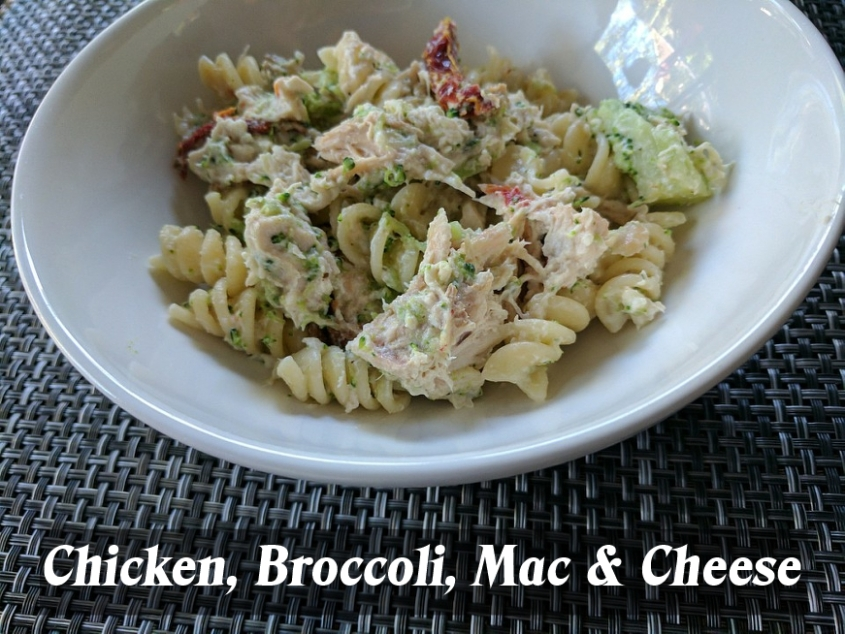 Chickenbrocmac&cheese