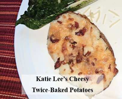 Katie Lee's Cheesy Twice-Baked Potatoes