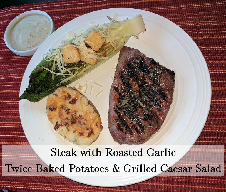 steakwithroastedgarlicpotatoescaesar