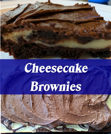cheecake Brownies